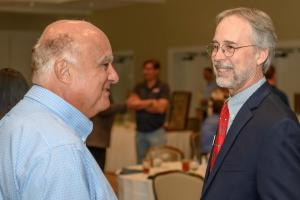 Toney Sleiman and Past President Bill Bishop